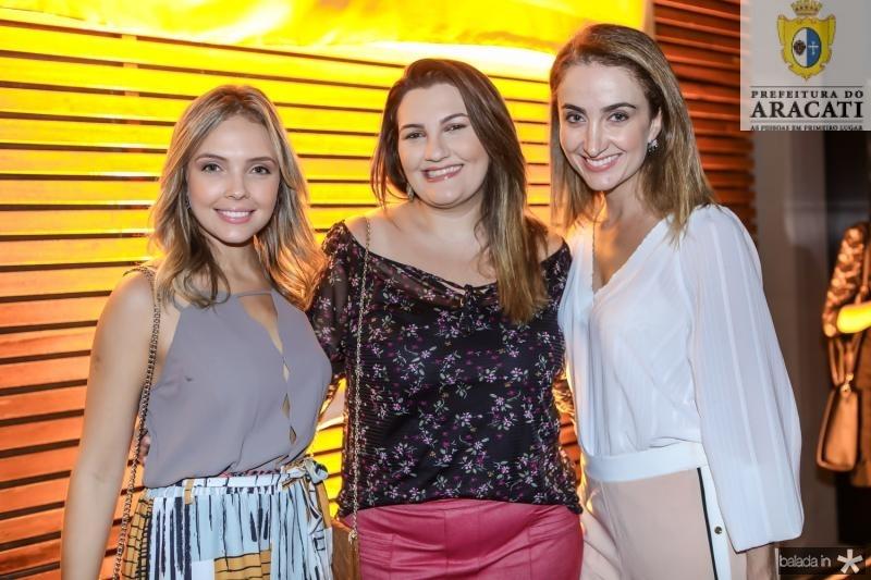 Thais Lopes, Mariana Sasso e Patricia Nilsen