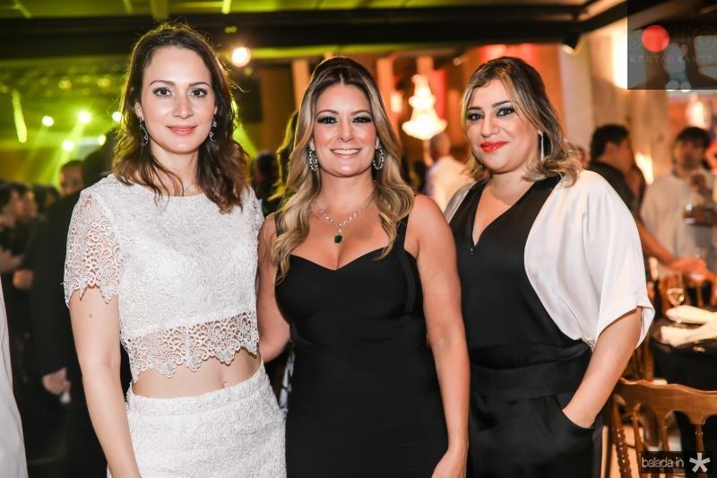 Juliana Gurgel, Tatiana Luna e Manu Romcy
