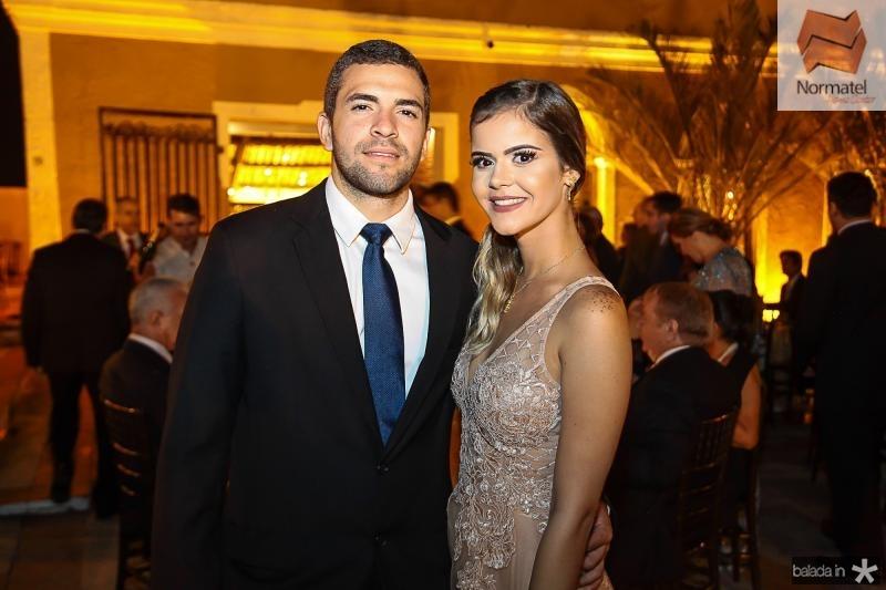 Artur Vasconcelos e Rafaela Barreira