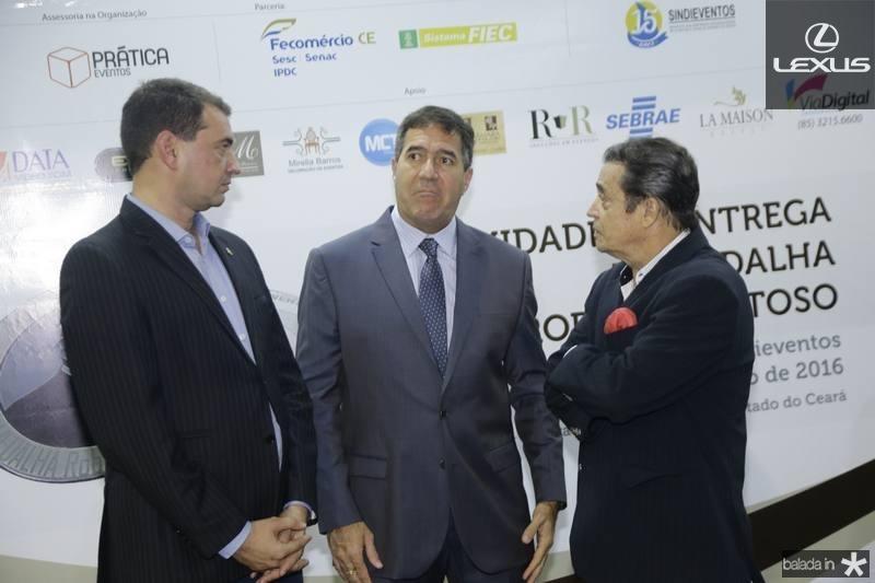 Josbertine Clementino, Luiz Gastão Bittencourt e Luiz Carlos Castelo