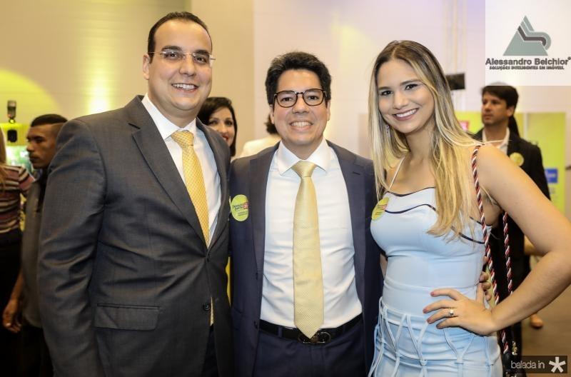 Jece Fonteles, Andre e Aline Aguiar