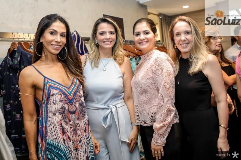 Synara Leal, Tais Pinto, Emanoele Milfon e Erica Figueiredo
