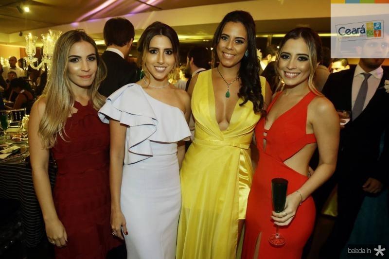 Mariane Melo, Tayra Romcy, Rebeca Parente e Mikaela Botura