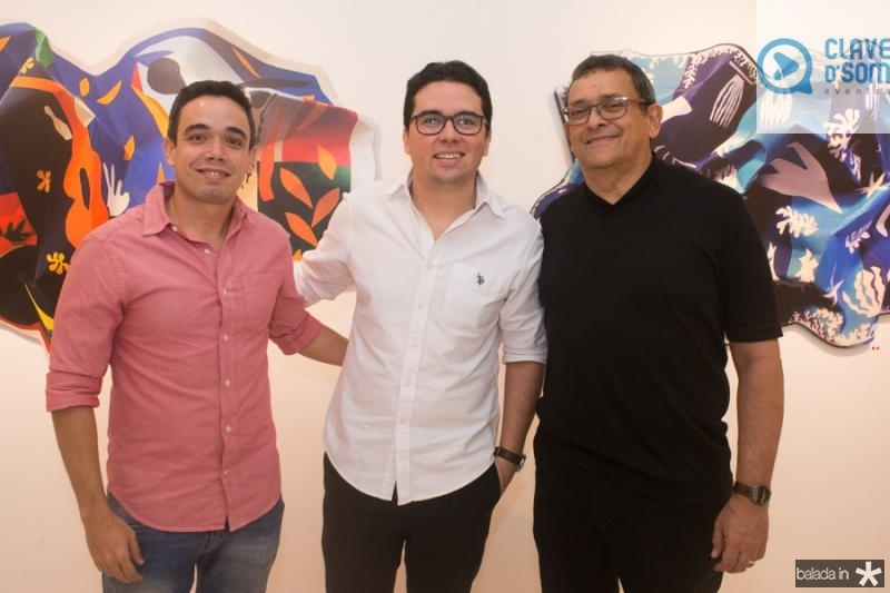 Marcelo Anteres, Andre Pires e Jose Guedes