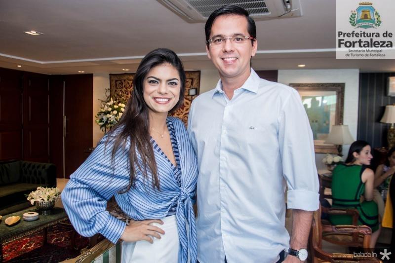Andressa Vasconcelos e Elsson Demetrio