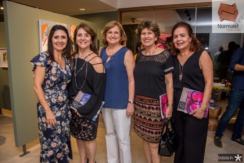 Luciana Cidrao, Tania Vasconcelos, Beatriz Diogenes e Katia Nobre