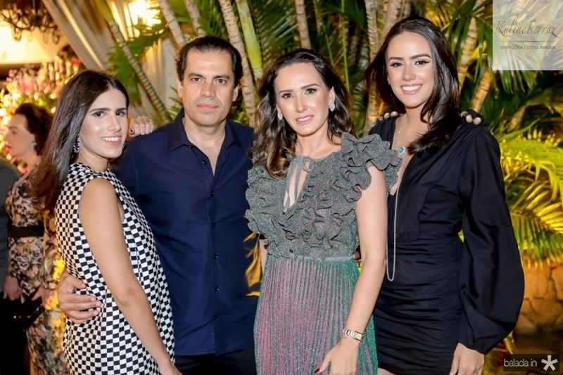 Natalia, Etevaldo, Roberta e Isabela Nogueira