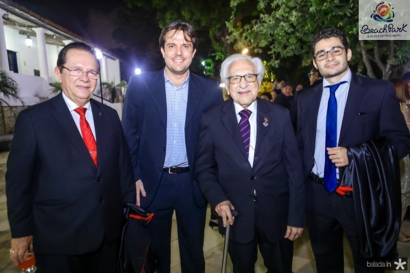 Jose Valdo, Joao Felipe, Joao de Lemos e Vitor Rola
