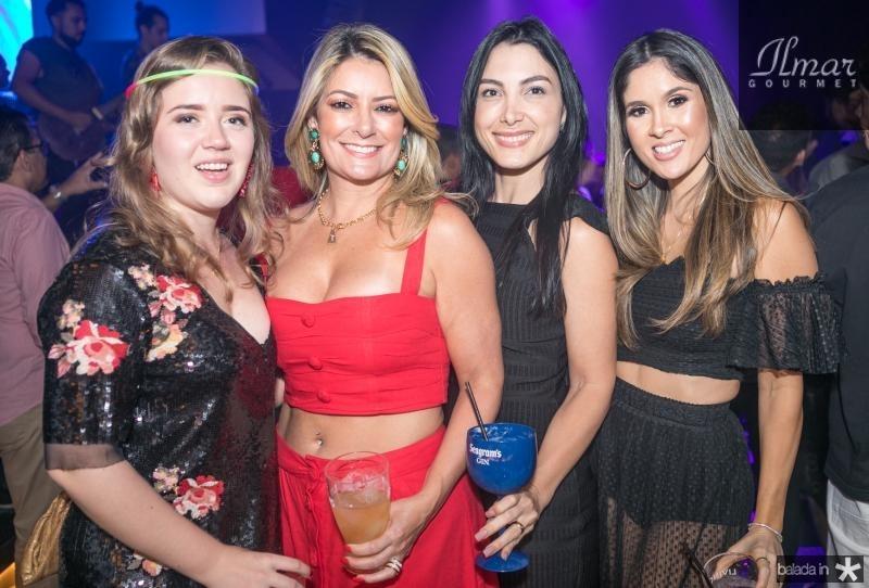 Isabella Rebouças, Tatiana Luna, Daniele Linheiro e Manoela de Castro