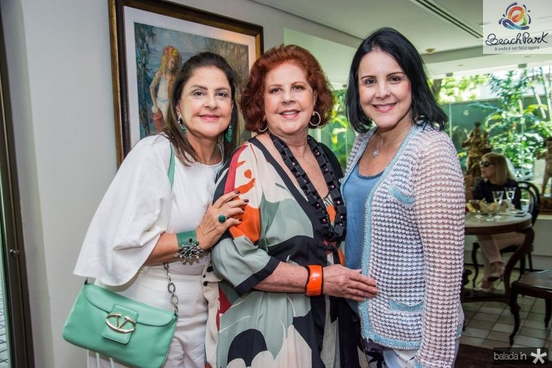 Celina Fiuza, Ana Virginia Carneiro e Patricia AlKary