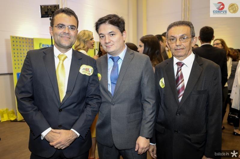 Rodrigo Costa, Davi de Paula e Amauri Gomes