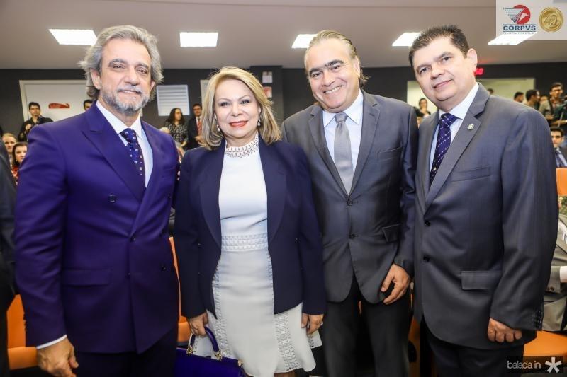 Ernesto Saboia, Iracema do Vale, Helio Parente e Mauro Filho