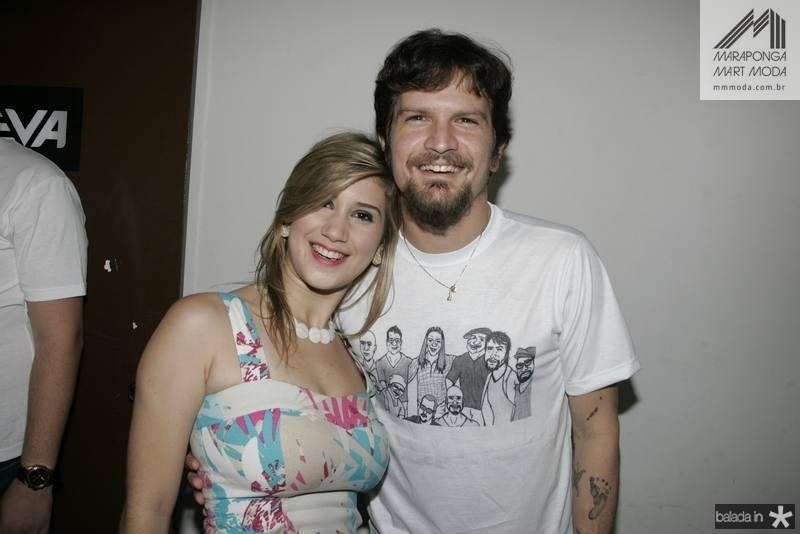Michelle Athayde e Saulo Fernandes