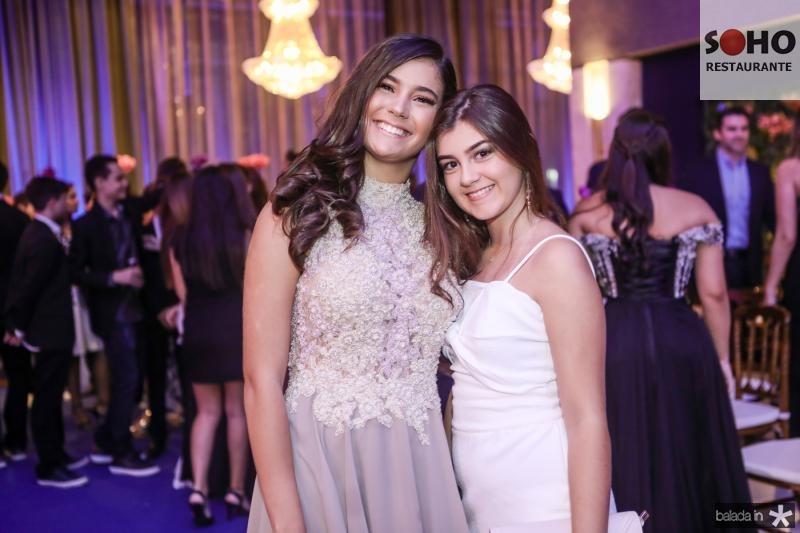 Nicole Aguiar e Luiza Pierre