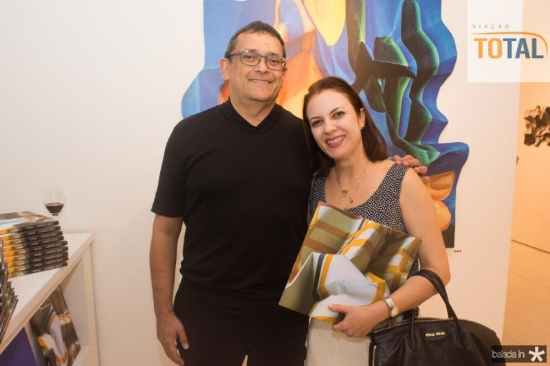 Jose Guedes e Manoela Correia