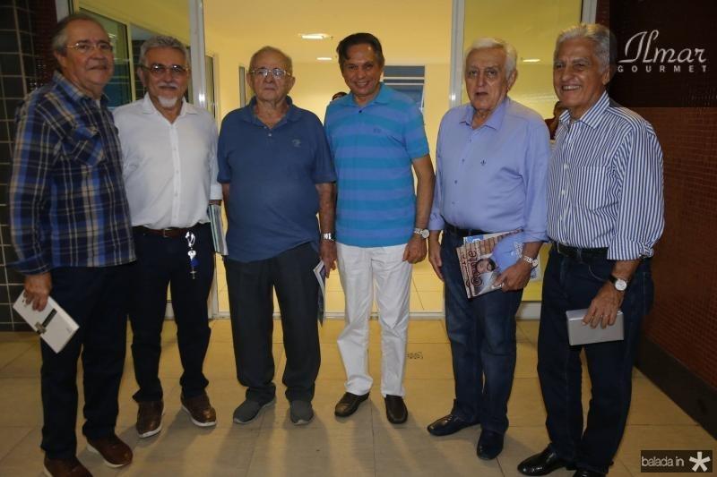 Pedro Gomes de Matos, Galba Gomes, Edimo Linhares, Antonio Cambraia, Lepoldo Albuquerque e Oto Sa Cavalcante