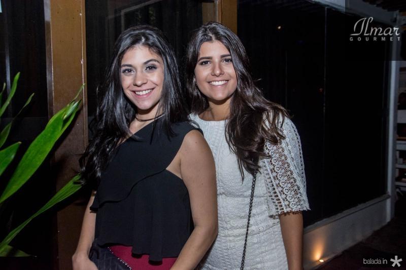 Beatriz Albuquerque e Gabriela Parente