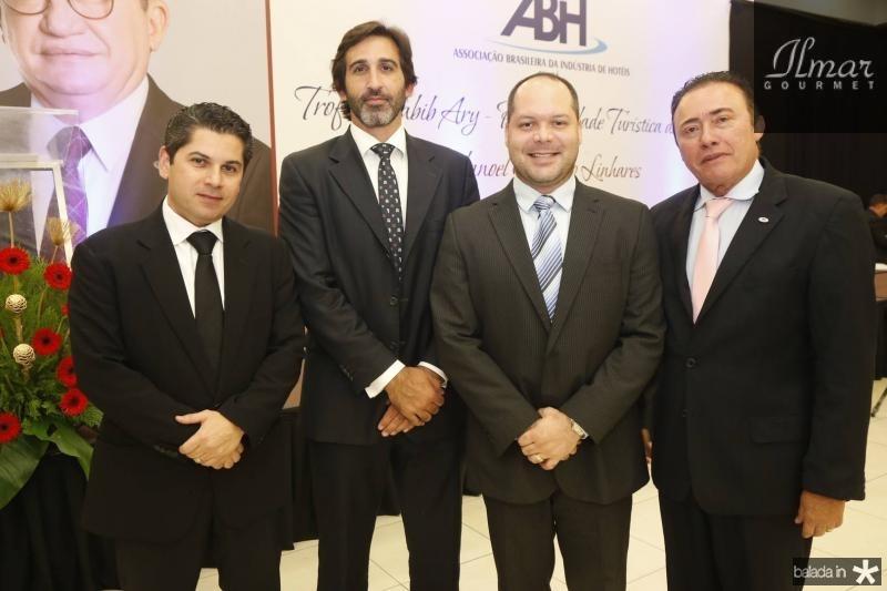 Pompeu Vasconcelos, Lucas Fiuza, Heitor Freire e Darlan Leite