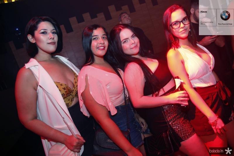 Rose Stefanie, Francisca Mariana, Carla Rolim e Estre Paes