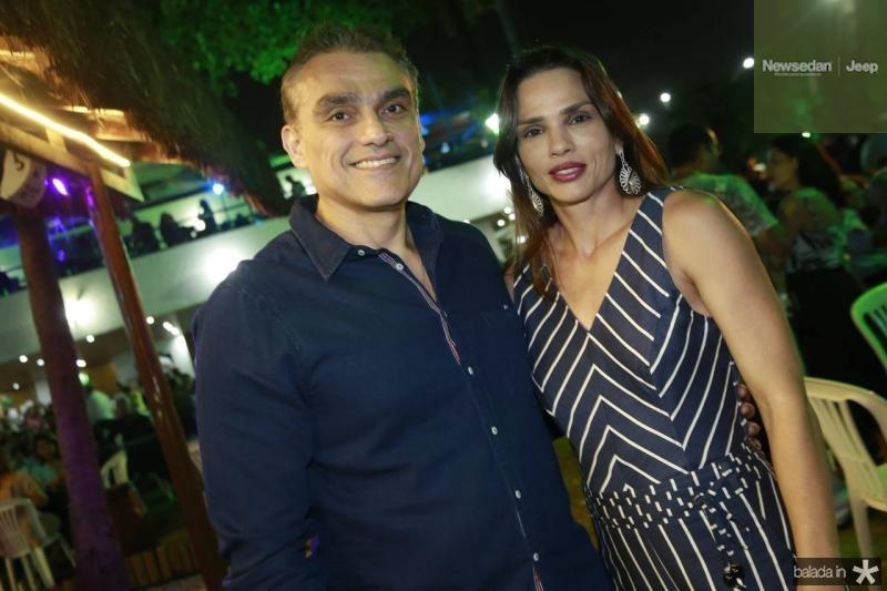 Josmario Cordeiro e Patricia Studart