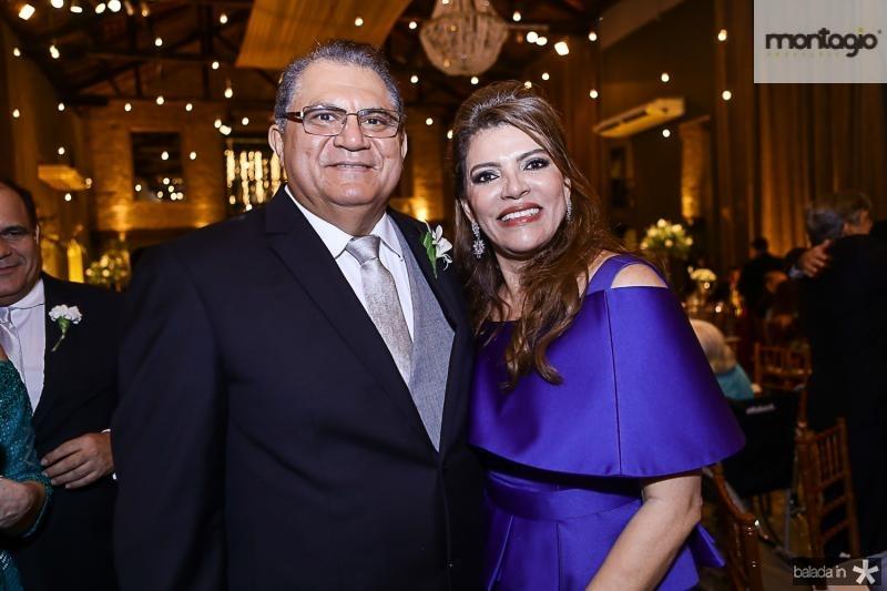 Mauricelio e Philomena Araujo