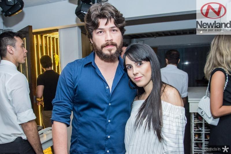 Berg Reis e Gabriela Franca