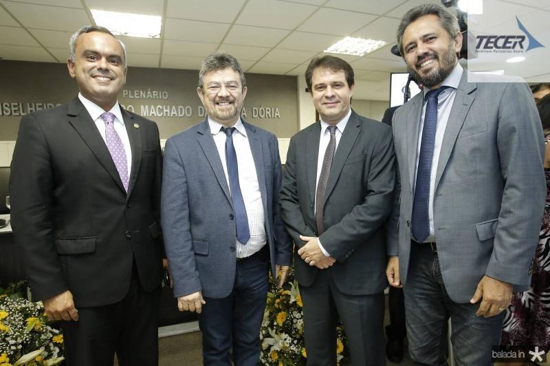 Marcelo Mota, Joao Marcos, Evandro Leitao e Elmano Cunha