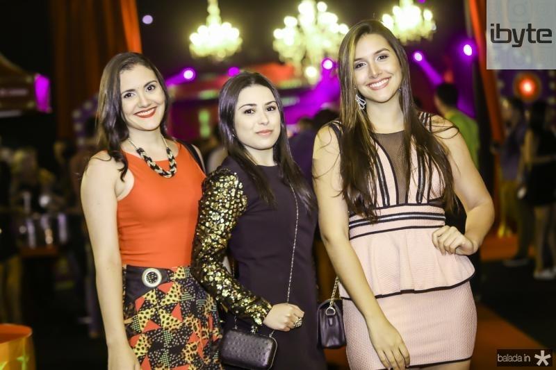 Geisa Menezes, Jade Yasmin e Nina Moura