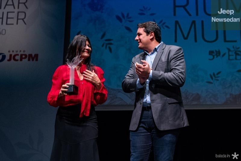 Patricia Saboya e Marcelo Filho