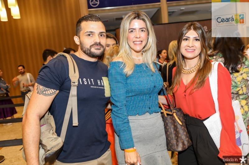 Tadeu Felipe, Diana Murinelli e Naiane Rodrigues
