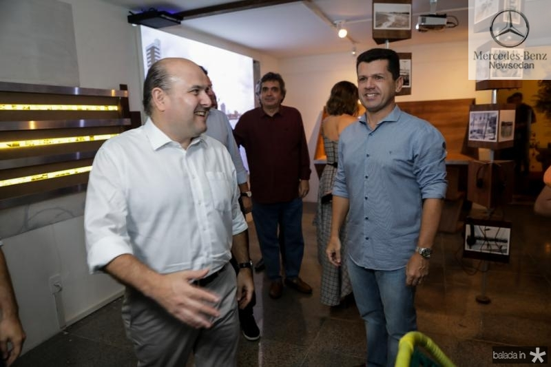Roberto Claudio e Erick Vasconcelos