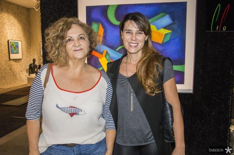 Helena Presoto e Lissandra Uttempergher