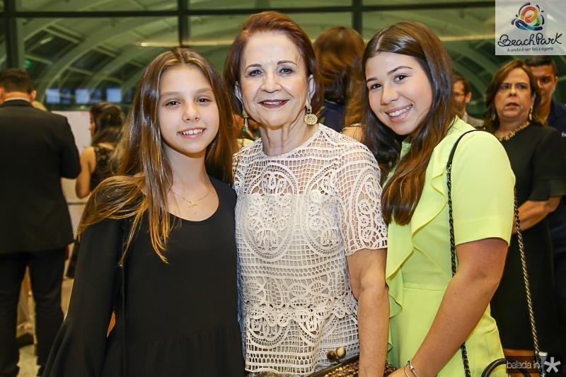 Liz, Lenita e Maria Clara Negrao