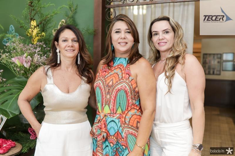 Marcia Barros, Zelia Paiva e Jeane Freire