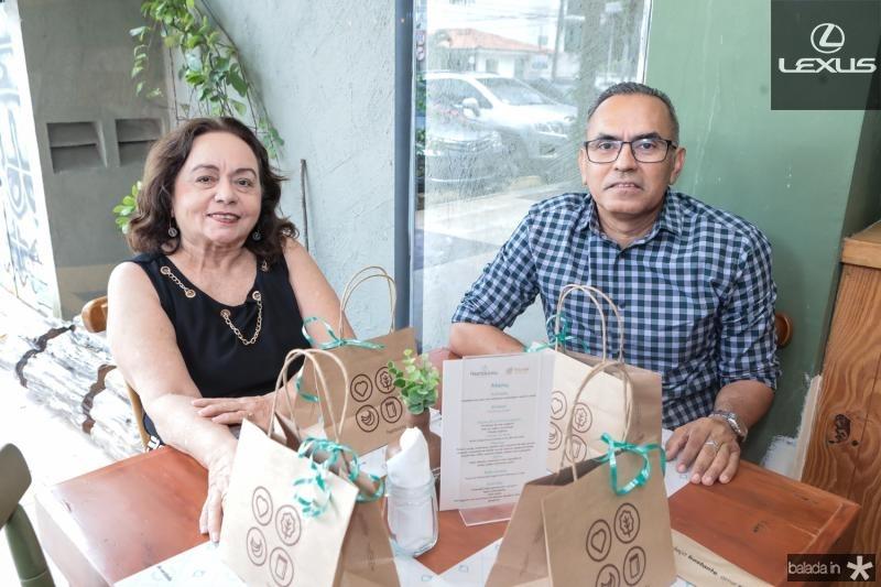 Simone Teixeira e Oscar Vasconcelos
