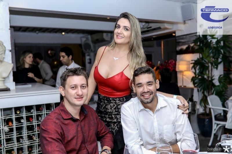 Andre Vitor, Mirela Barreto e Pedro Igor