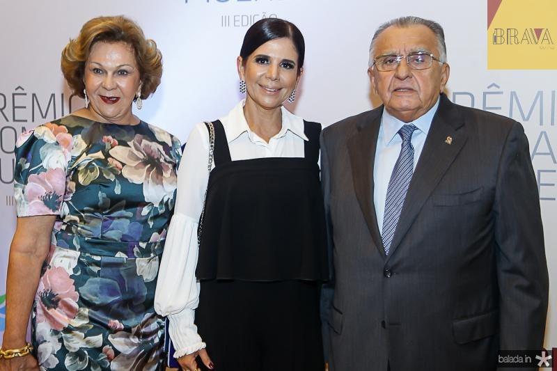 Auxiliadora Paes Mendonça, Maria Lucia Negrao e Joao Carlos Paes Mendonça