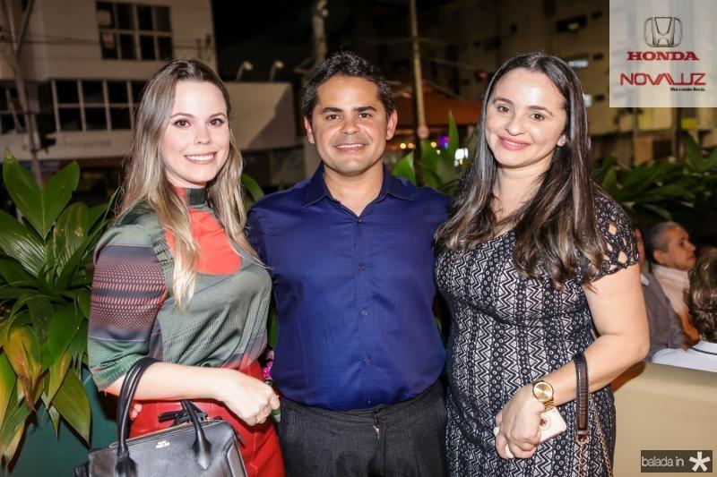 Renata Nogueira, Alfredo Savio e Regiane Gomes