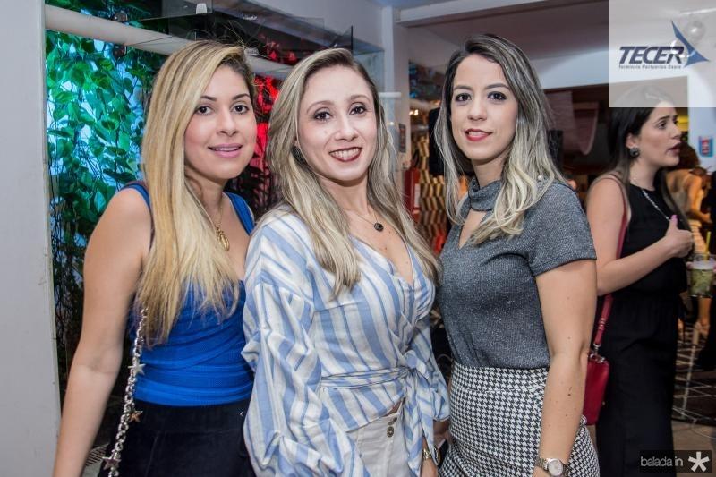 Daniele Holanda, Lidiane Nogueira e Ingrid Amora