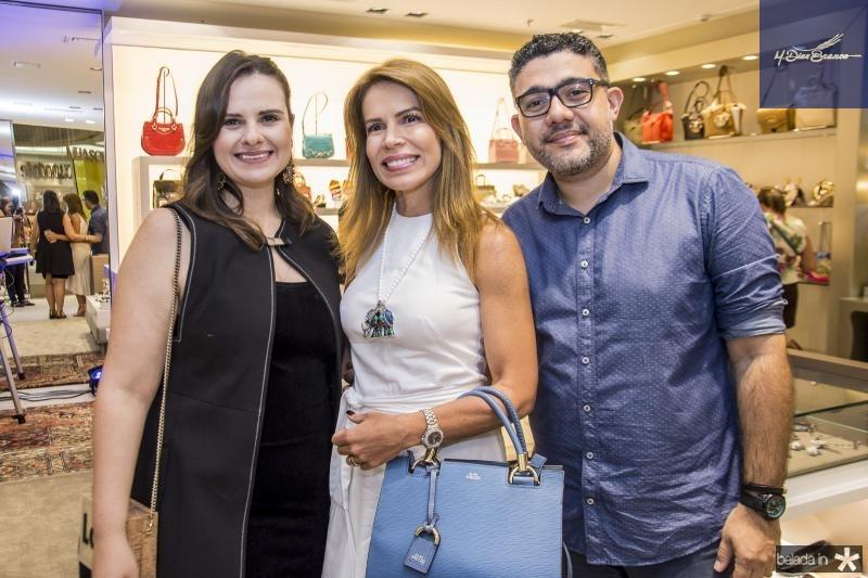 Carol Damiane, Maira Silva e Rafael Godinho