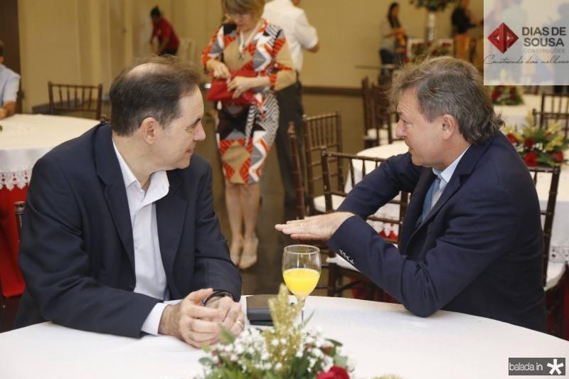 Luiz Antonio Rabelo e Mauricio Filizola