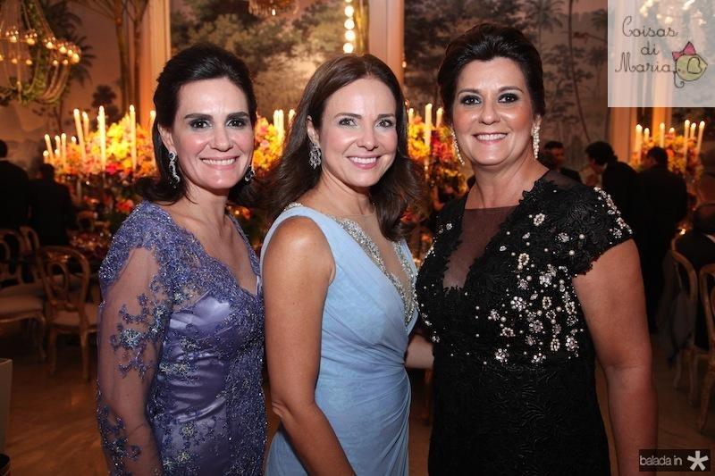 Conceicao Garcez, Beatrice Ary e Marcia de Aguiar