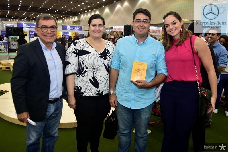 Tarcisio Matos, Marilia Marinho, Eduardo Cavalcante, Elayne Cavalcante