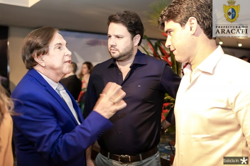 Lazaro Medeiros, Leonardo Couto e Bruno Barrera