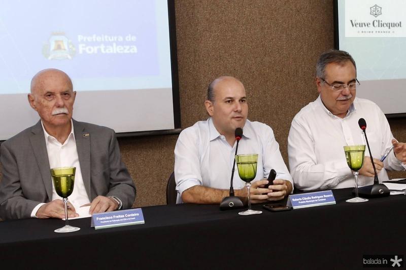 Freitas Cordeiro, Roberto Claudio e Assis Cavalcante