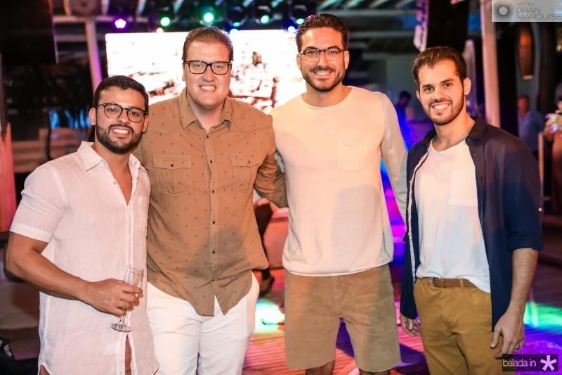 George Gomes, Savio Bandeira, Bernardo Santana e Mario Bezerra