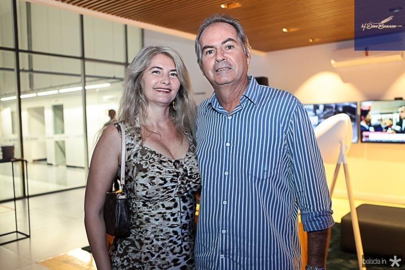 Raquel Saraiva e Ricardo Sampaio