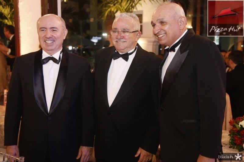 Amarilio Cavalcante, Alcimor Rocha e Licinio Correa 1
