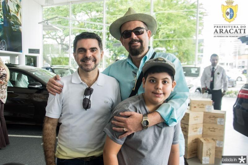 Isaac Furtado, Erick Arruda e Danilo Arrudo