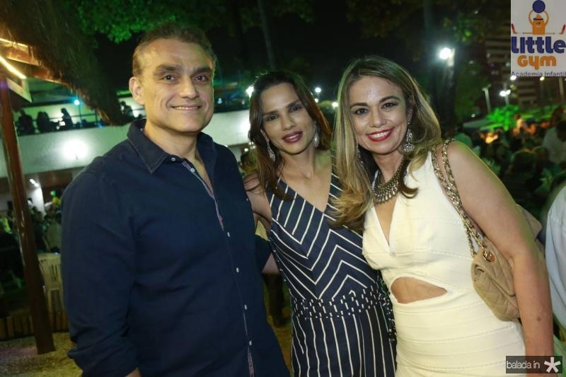 Josmario Cordeiro, Patricia Sudart e Liana Ferreira